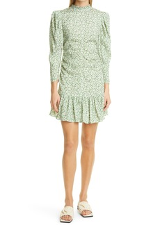 byTiMo Floral Ditsy Ruched Dress