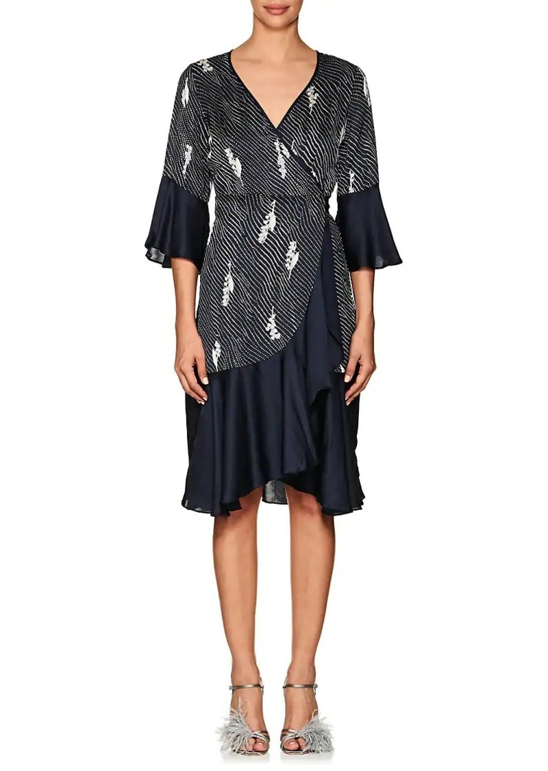 2c9c3011ac317 byTiMo byTiMo Women s Dot- -Floral Crepe Wrap Dress