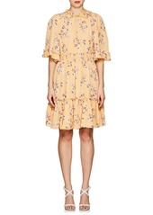 Bytimo bytimo womens floral crepe a line dress abveac9baee a