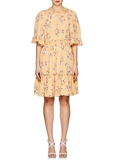 byTiMo Women's Floral Crepe A-Line Dress