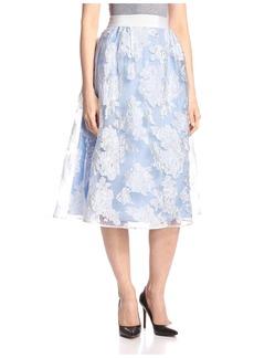 byTiMo Women's Midi Floral Skirt  M