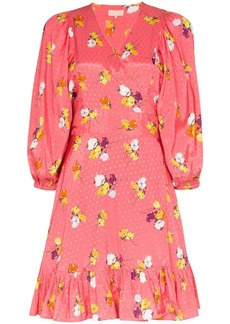 byTiMo floral-print wrap dress