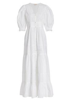byTiMo Memory Lane Cotton Slub Maxi Dress