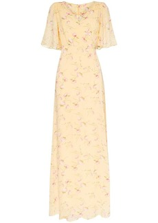 byTiMo Poppies floral-print maxi dress