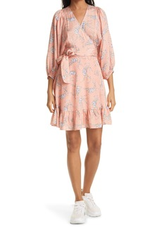Women's Bytimo Delicate Floral Wrap Dress