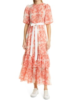 Women's Bytimo Floral Georgette Maxi Dress