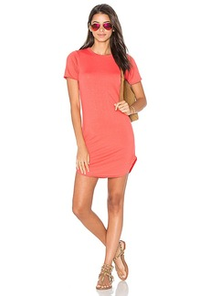 C & C California Adelise Shirt Dress in Coral. - size M (also in XS)