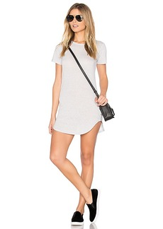 C & C California Adelise T Shirt Dress in Gray. - size M (also in XS,S)