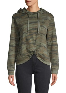 C & C California Camouflage Cotton-Blend Hoodie
