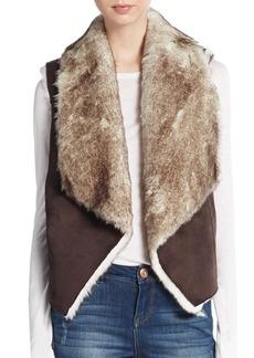 C&C California Faux Fur Vest