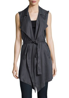 C&C California Solid Draped Vest