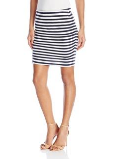C & C California C&C California Women's Ashley Stripe Mini Skirt