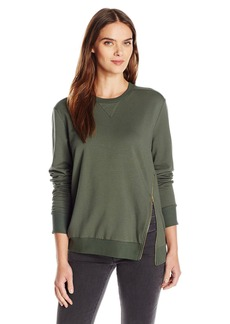 C & C California C&C California Women's Zipper Lounge Sweatshirt  M