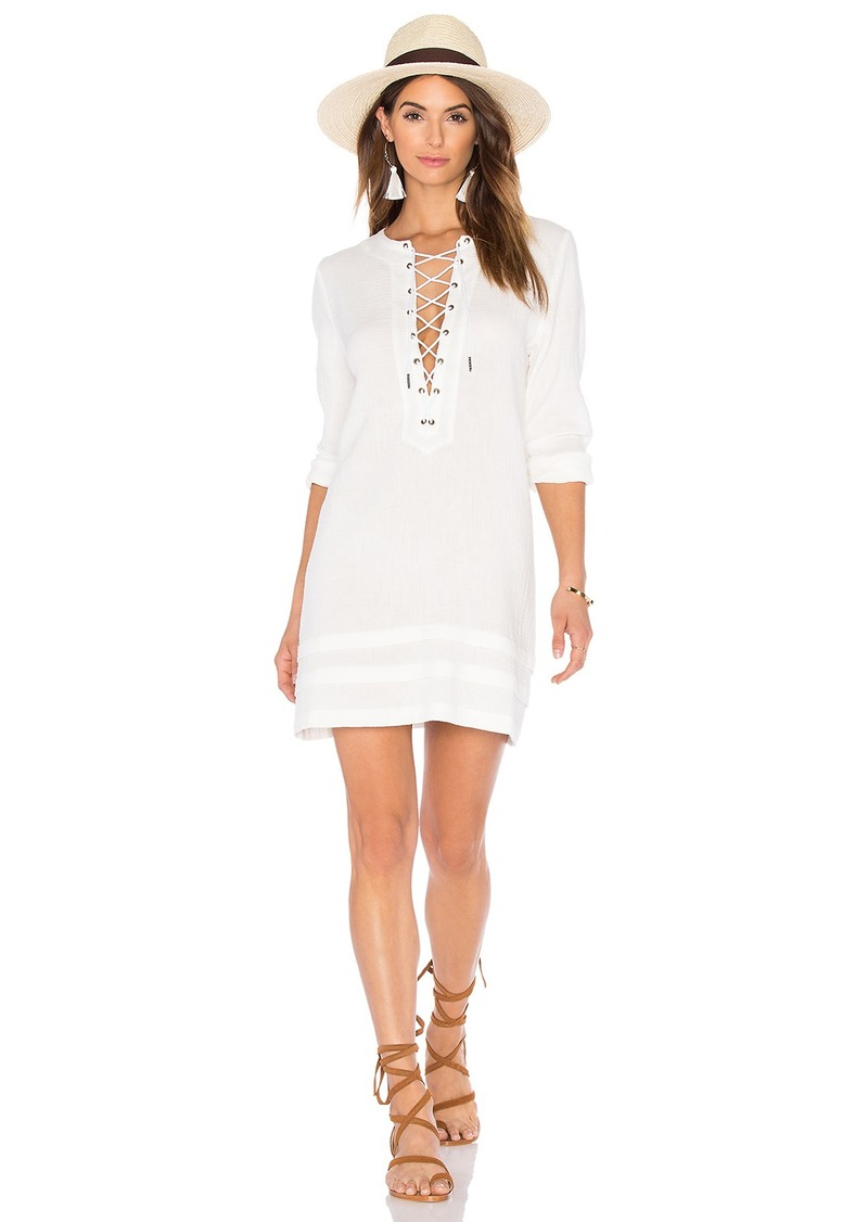 C & C California C&C California Ynez Lace Up Dress