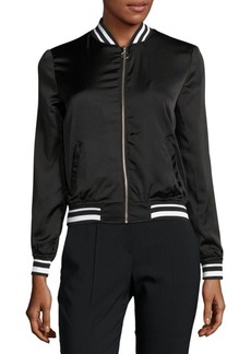 C&C California Zip-Front Bomber Jacket