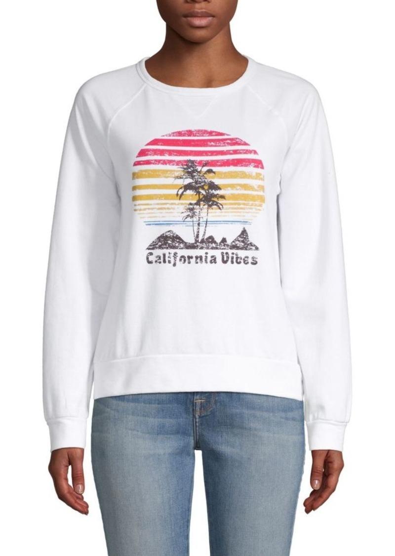C & C California Graphic Raglan-Sleeve Sweatshirt