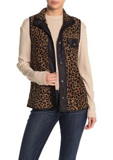 C & C California Leopard Fleece Vest