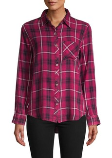 C & C California Plaid Button-Down Shirt