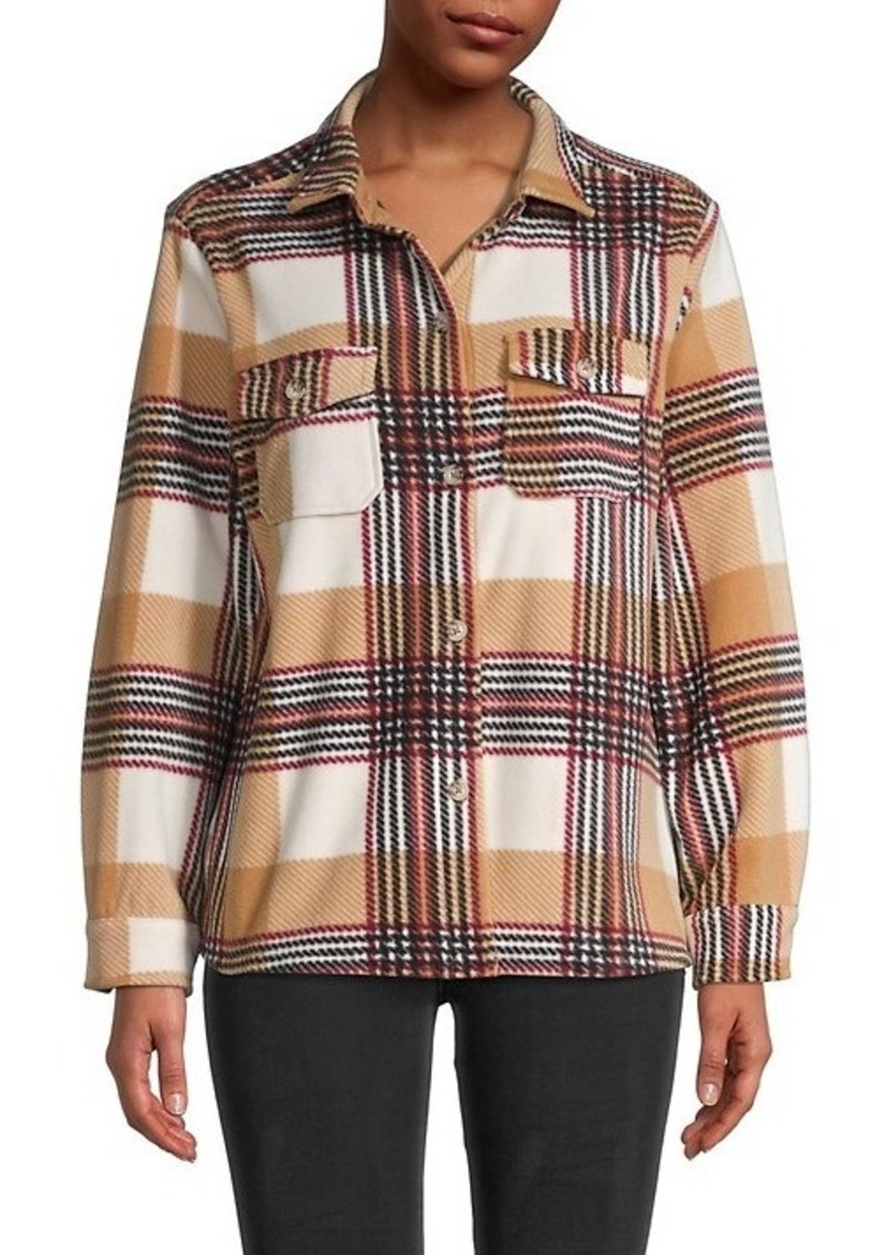C & C California Plaid Long-Sleeve Shirt