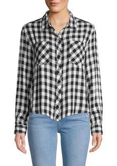 C & C California Plaid Woven Button-Down Shirt