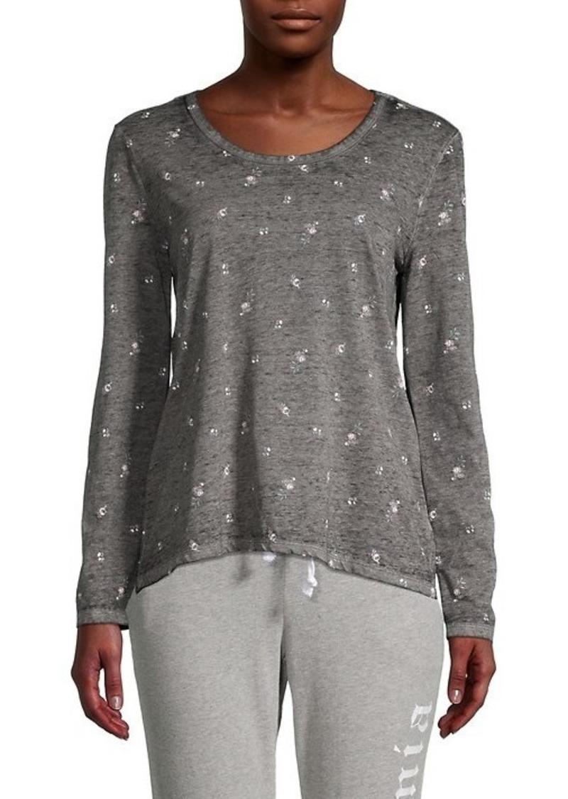 C & C California Printed Long-Sleeve T-Shirt