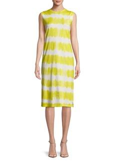 C & C California Tie Dyed Knee-Length Dress