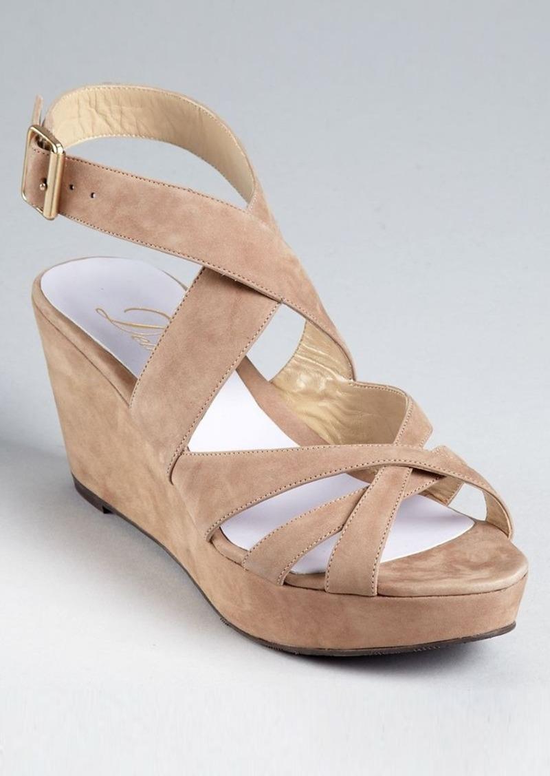 Delman Sandals - Clara Platform Wedge