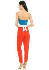 Catherine Malandrino Favorite Strapless Jumpsuit