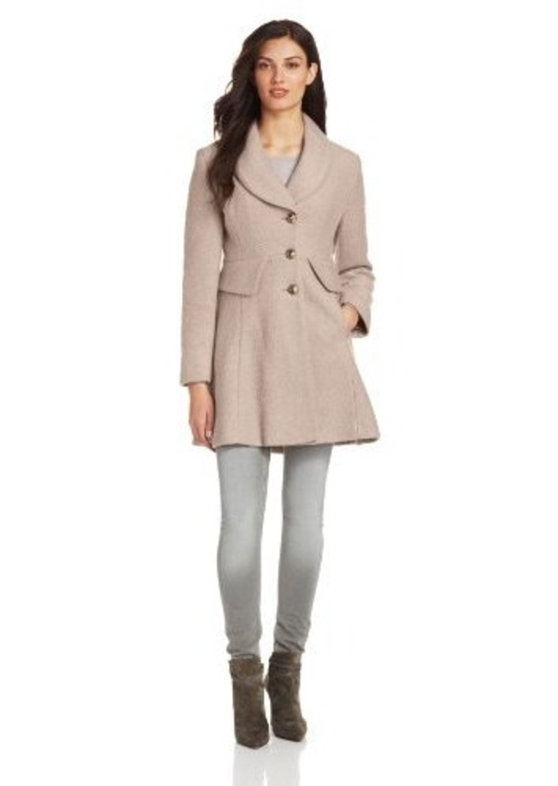 Kenneth Cole New York Women's Peplum Coat