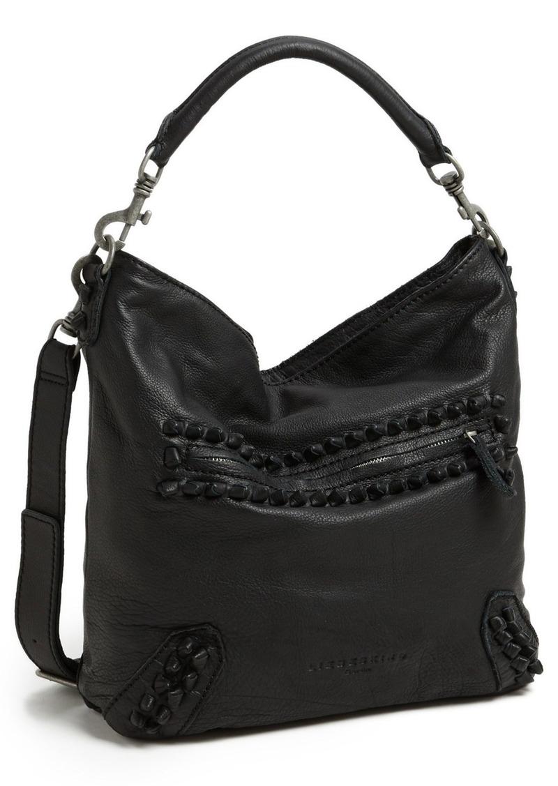 liebeskind liebeskind 39 vintage knot 39 leather hobo handbags shop it to me. Black Bedroom Furniture Sets. Home Design Ideas