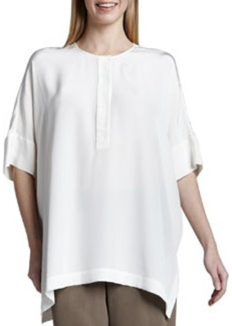 Go Silk Silk Dolman-Sleeve Tunic, Women's