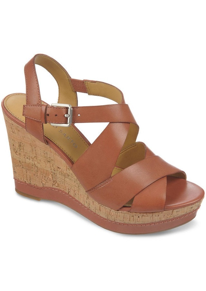 Franco Sarto Shiver Platform Wedge Sandals