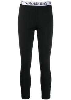 Calvin Klein logo band leggings