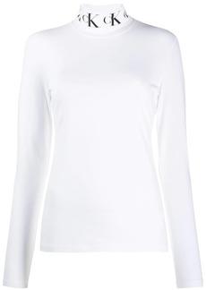 Calvin Klein logo collar sweatshirt