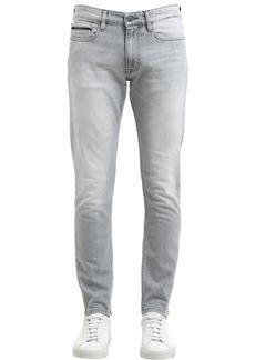 Calvin Klein 16.5cm Skinny Washed Stretch Denim Jeans