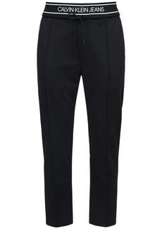 Calvin Klein 16cm Logo Tape Sweatpants