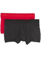 Calvin Klein 2 pack stretch-cotton trunks