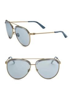 Calvin Klein 205 W39 NYC Modern Aviator Sunglasses