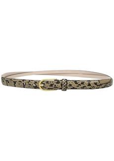 20mm Snake Panel w/ Crossed Straps Belt