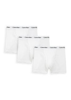 Calvin Klein 3-Pack Stretch Cotton Trunks