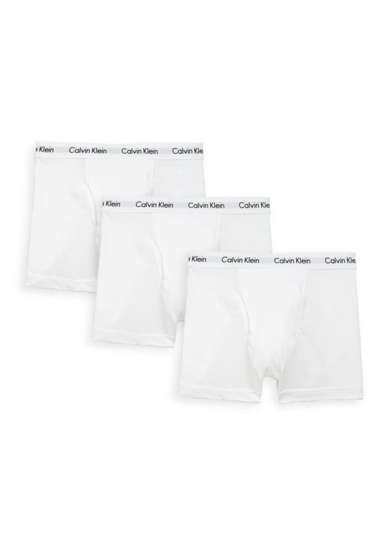 Calvin Klein 3-Pack Stretch Cotton Trunks