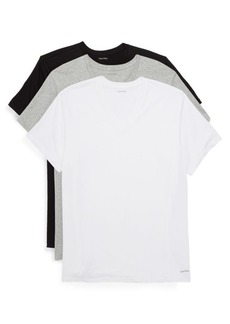Calvin Klein 3-Pack V-Neck Cotton Tee