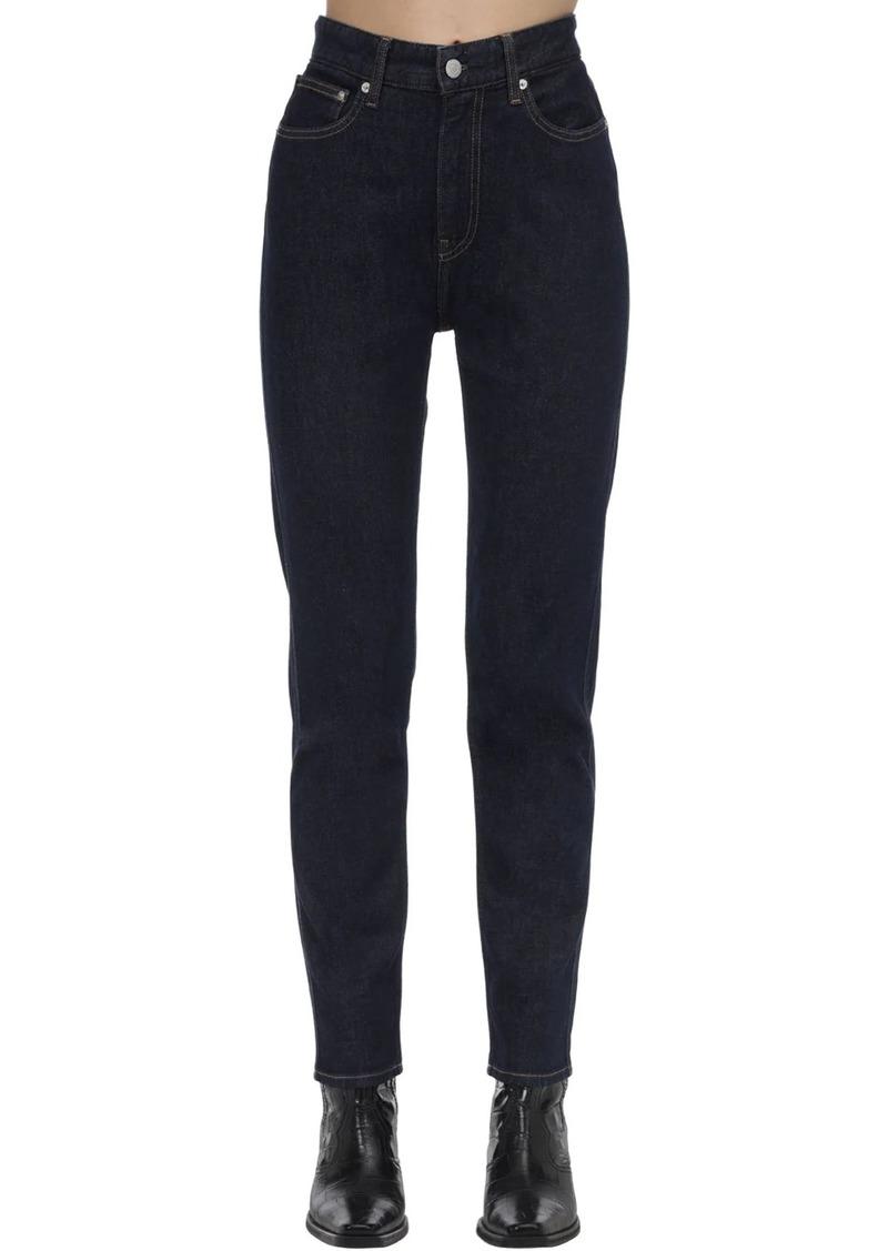Calvin Klein 3 Stitching Straight Cotton Denim Jeans