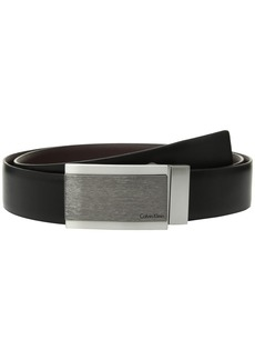 Calvin Klein 32mm Reversible Feather Edge Panel Belt