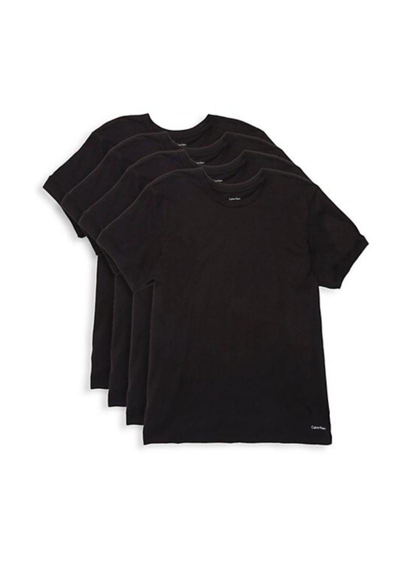 Calvin Klein 4-Pack Cotton T-Shirt Pack