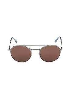 Calvin Klein 52MM Round Sunglasses