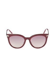 Calvin Klein 53MM Cat Eye Sunglasses