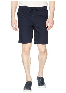 "Calvin Klein 9"" Micro Hatch Print Pull-On Shorts"