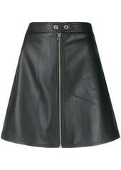 Calvin Klein A-line mini skirt