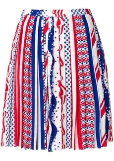 Calvin Klein a-line pleated skirt